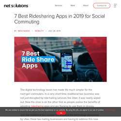 7 Best Ridesharing Apps in 2019 for Social Commuting
