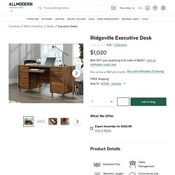 Ridgeville Executive Desk