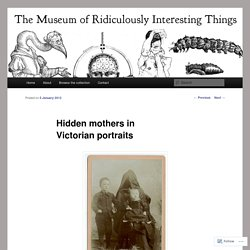 Hidden Mothers Photographs