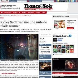Ridley Scott va faire une suite de Blade Runner