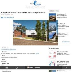 Rieger House / Leonardo Ciotta Arquitetura