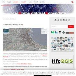 Carte IGM di tutta l'Italia on line – Cose&Robe – Rielaborazioni dataset opendata – @gbvitrano