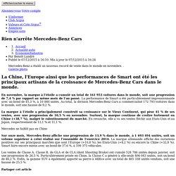 Rien n'arrête Mercedes-Benz Cars – L'argus PRO (3)