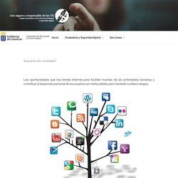 Riesgos en Internet – Uso seguro y responsable de las TIC