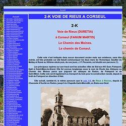 2-K VOIE DE RIEUX A CORSEUL - Les voies romaines en Ille-et-Vilaine