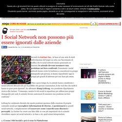 I Social Network non possono più essere ignorati dalle aziende - Ninja Marketing, il punto di riferimento nell'innovazione nel marketing e nella comunicazione.
