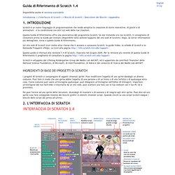 Guida di Riferimento di Scratch 1.4