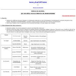 J. Riffault : module sur Robespierre - ELH