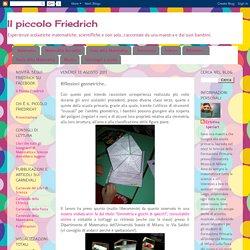 Il piccolo Friedrich: Riflessioni geometriche...