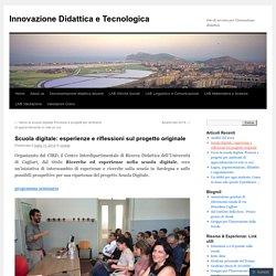 Sardegna, scuola digitale: esperienze e riflessioni sul progetto originale