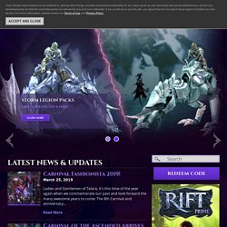 RIFT™ - Home - Dynamic Fantasy MMORPG