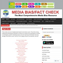 Right Bias – Media Bias/Fact Checking