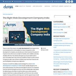 The Right Web Development Company India