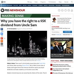 Why you have the right to a $5K dividend from Uncle Sam