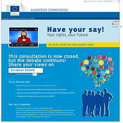 Your Rights, Your Future - European Commission