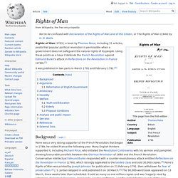 Rights of Man - Wikipedia