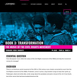 The Music of the Civil Rights Movement - TeachRock