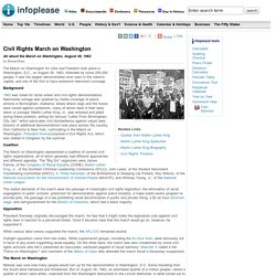 Civil Rights March on Washington (History, Facts, Martin Luther King Jr.)