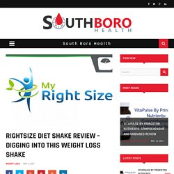 Diet Shake Review