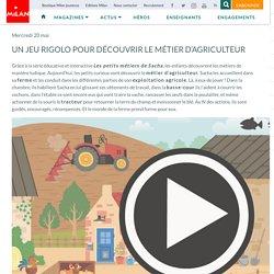 Un jeu rigolo pour découvrir le métier d'agriculteur - Milan Presse