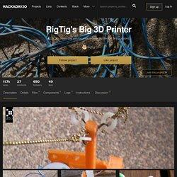 RigTig's Big 3D Printer