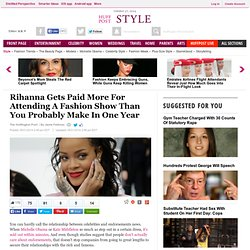 Rihanna Gets Paid More For Attending A Fashion Show Than You Probably Make In One Year