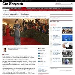 Rihanna boosts River Island sales