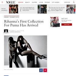 Rihanna's Debut Collection for Puma