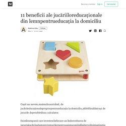 11 beneficii ale jucăriiloreducaționale din lemnpentrueducația la domiciliu