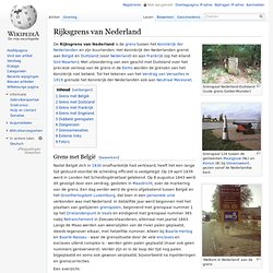 Rijksgrens van Nederland