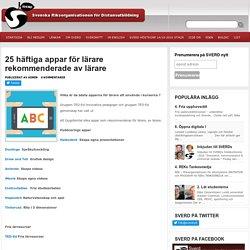 25 häftiga appar för lärare rekommenderade av lärare : SVERD – Svenska Riksorganisationen för Distansutbildning