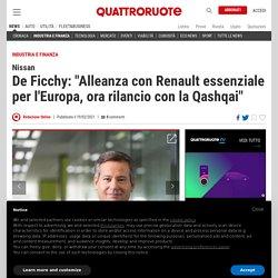 """Nissan, De Ficchy: """"Con la nuova Qashqai rilanceremo la nostra presenza in Europa"""" - Quattroruote.it"""