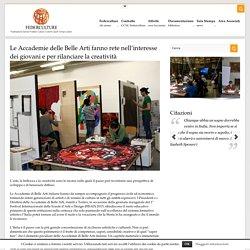 Le Accademie delle Belle Arti fanno rete nell'interesse dei giovani e per rilanciare la creatività