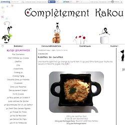 Rillettes De Carottes - Complètement Kakou !
