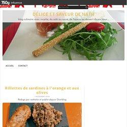 Rillettes de sardines à l'orange et aux olives