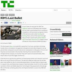 RIM's Last Bullet