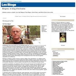 Rimbaud le fils : Blogres, le blog d'écrivains