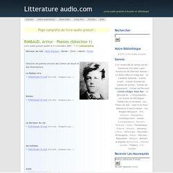 RIMBAUD, Arthur – Poésies (Sélection 1)