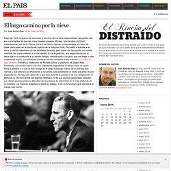 El rincón del distraído: José Andrés Rojo
