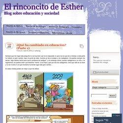 Blog sobre educación y sociedad