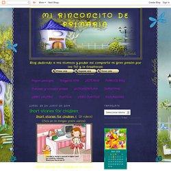 Mi rinconcito de Primaria: Short stories for children
