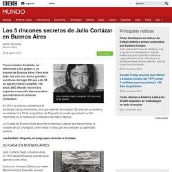 Los 5 rincones secretos de Julio Cortázar en Buenos Aires - BBC Mundo