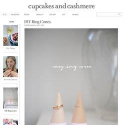 DIY Ring Cones