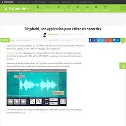 Ringdroid, une application pour editer ses sonneries