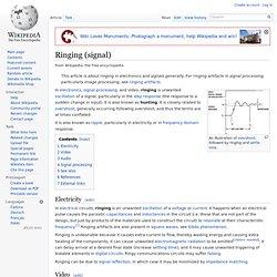 Ringing (signal)