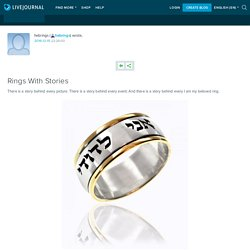 Rings With Stories: hebrings