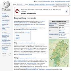 Ringwallburg Heunstein