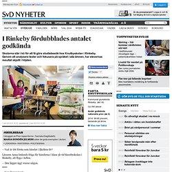 I Rinkeby fördubblades antalet godkända