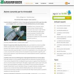 Azione concreta per le rinnovabili « Legambiente Circolo Riviera del Brenta