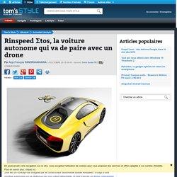 Rinspeed Ʃtos, la voiture autonome qui va de paire avec un drone